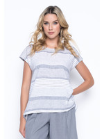 Picadilly 1 Pocket Top With Side Slits