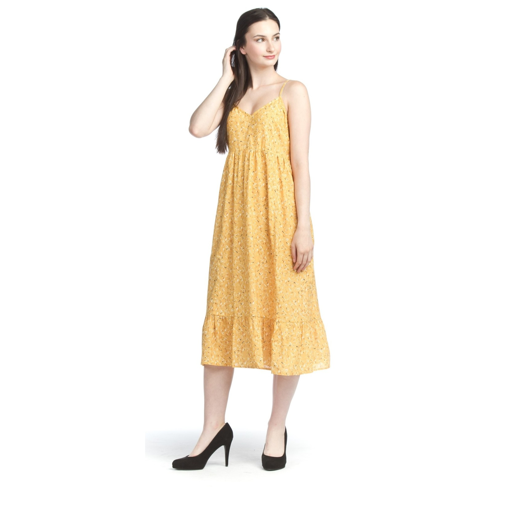 Papillon Sketchs Maxi Dress