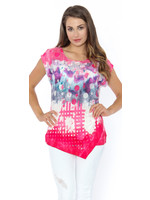 Funsport Pink & White Top