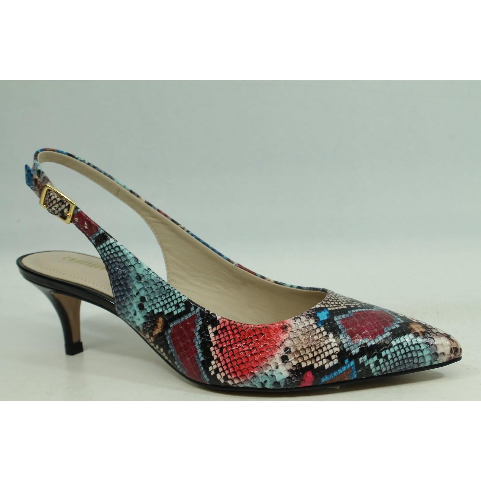 Capelli Rossi Leather Shoe Snake Multi