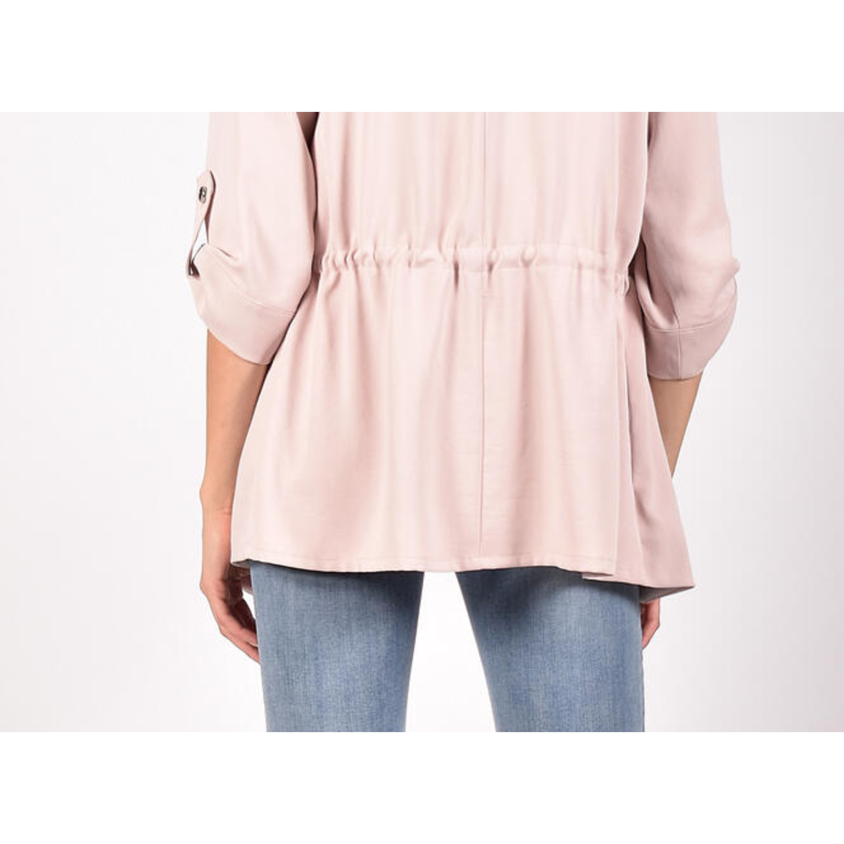 Frank Lyman Blush Woven Cover Up