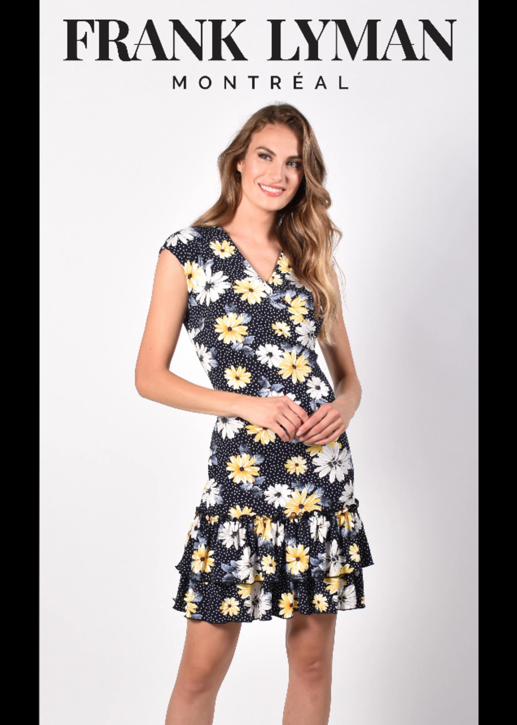 Frank Lyman Sunflower Dress