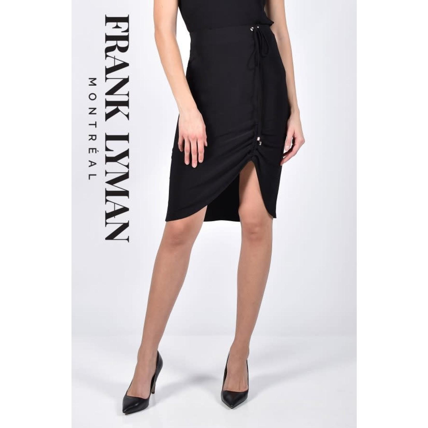 Frank Lyman Black Knit Skirt