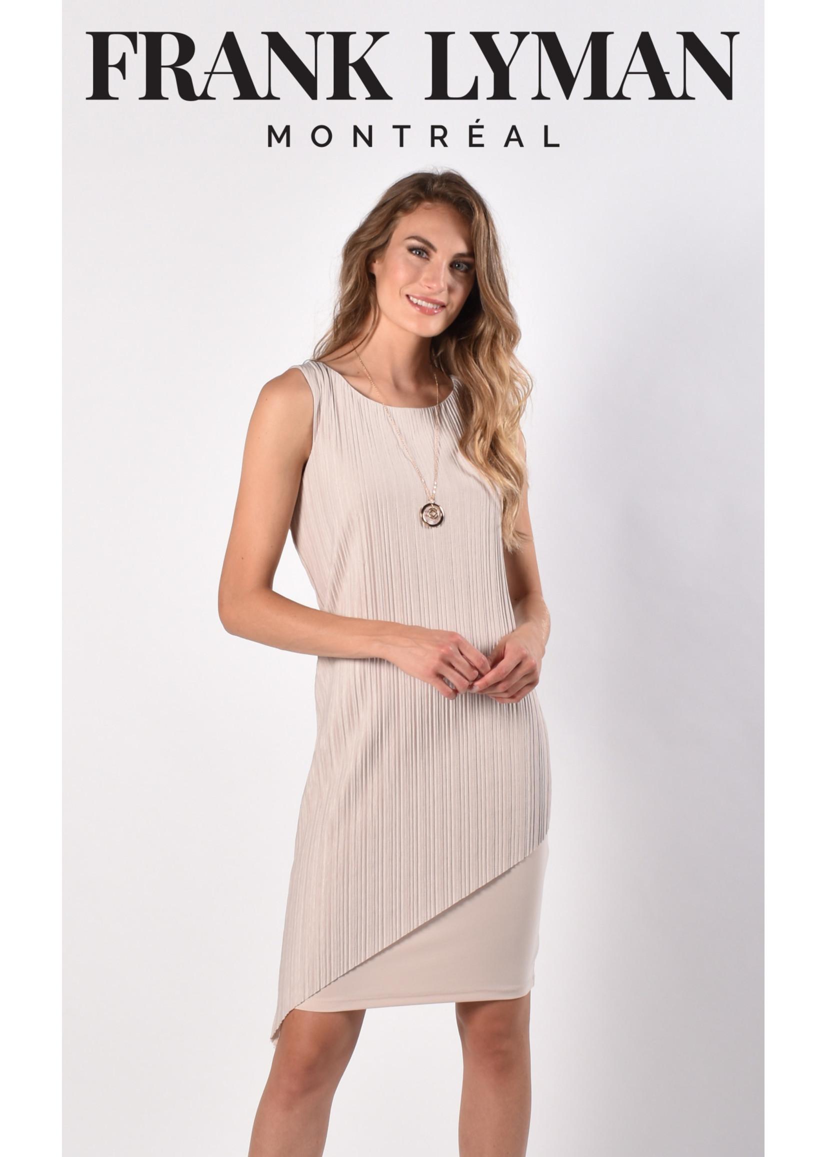 Frank Lyman Oatmeal Woven Dress