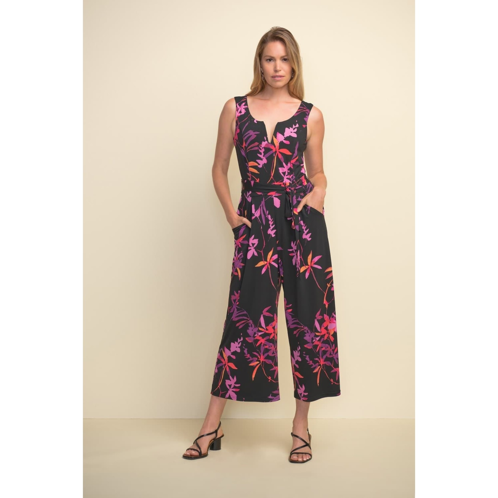 Joseph Ribkoff Floral Jumpsuit 21112