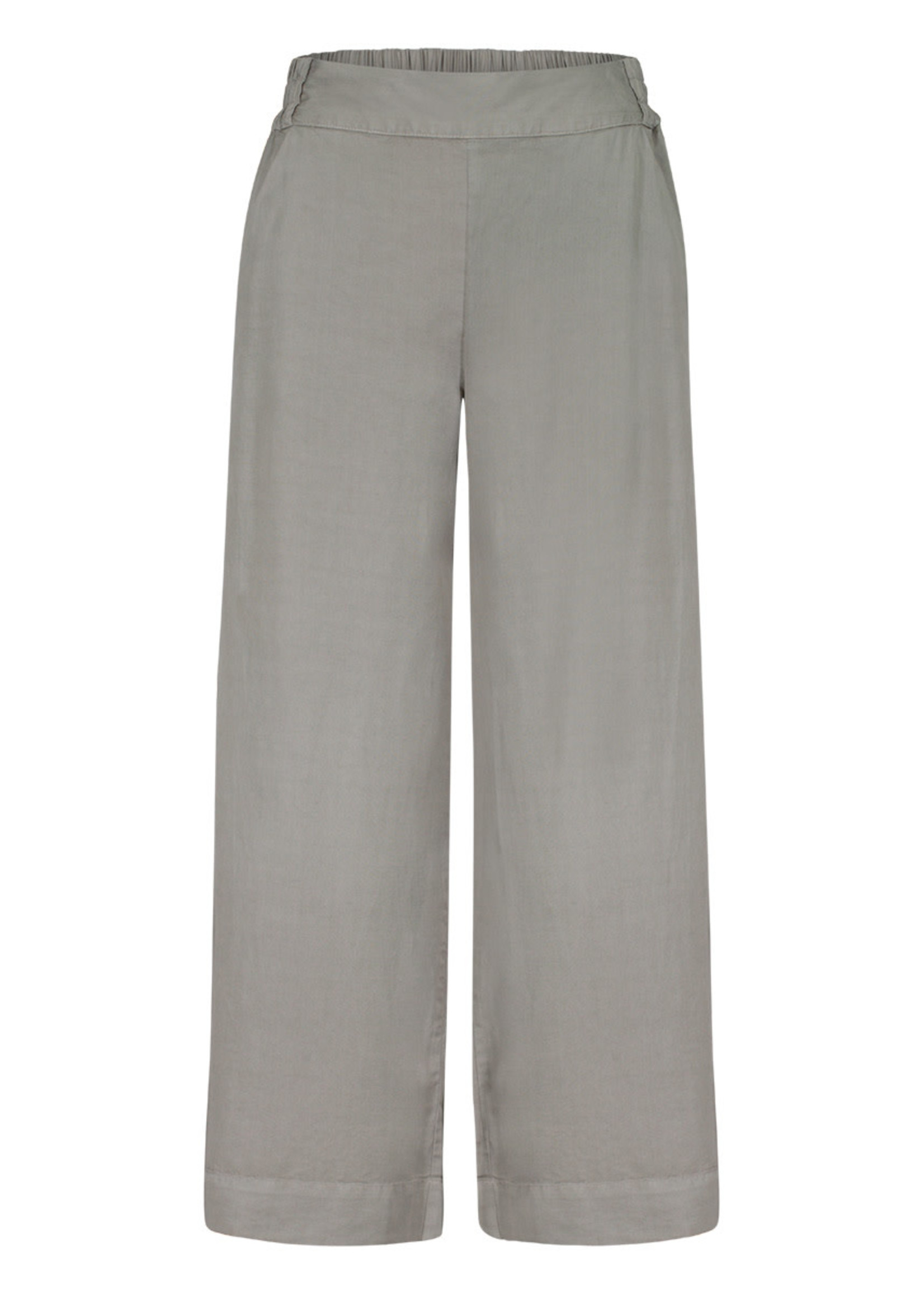 Tribal Pull On Cropped Palazzo Pant
