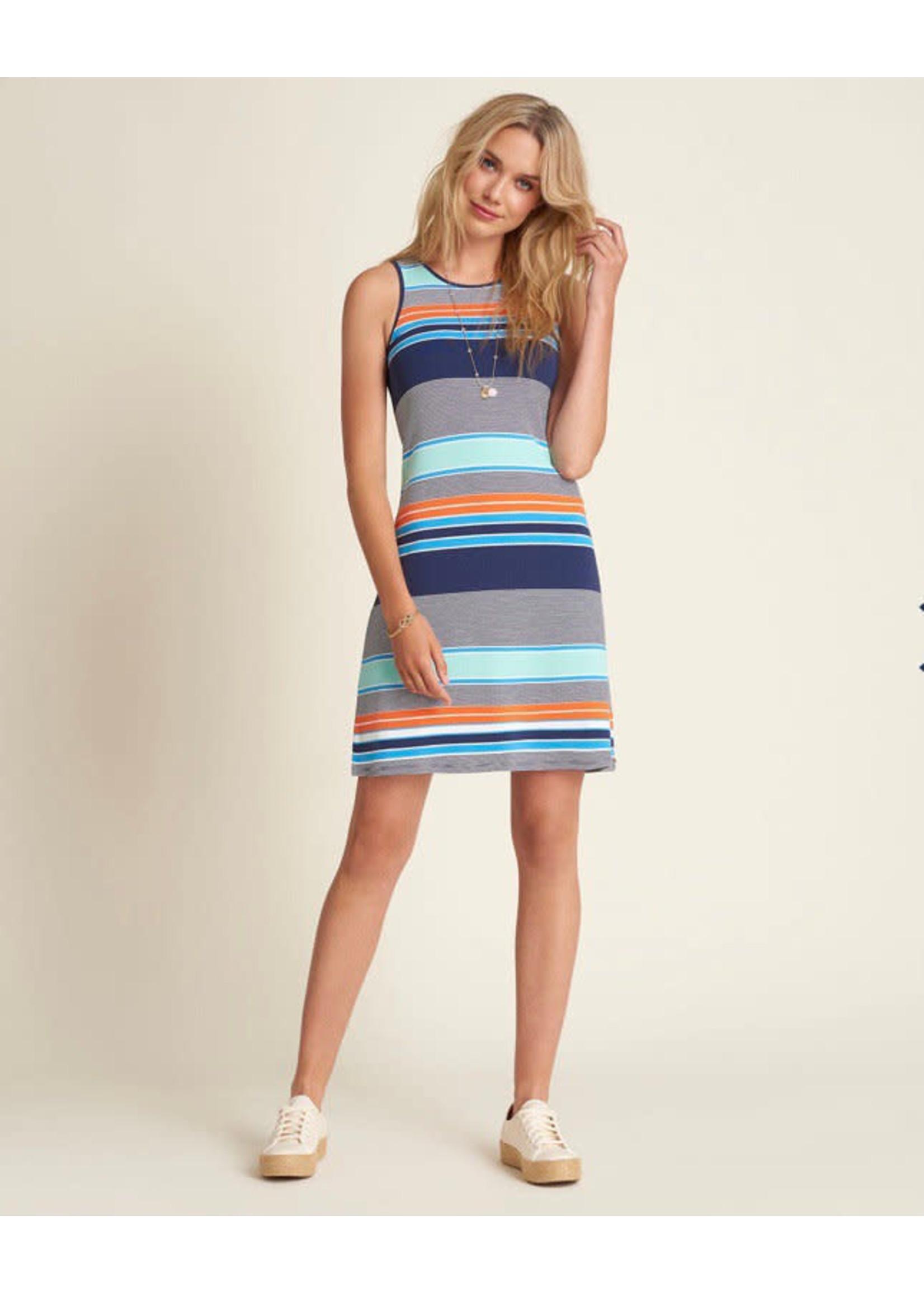 Hatley Bella Dress Coastal Stripes