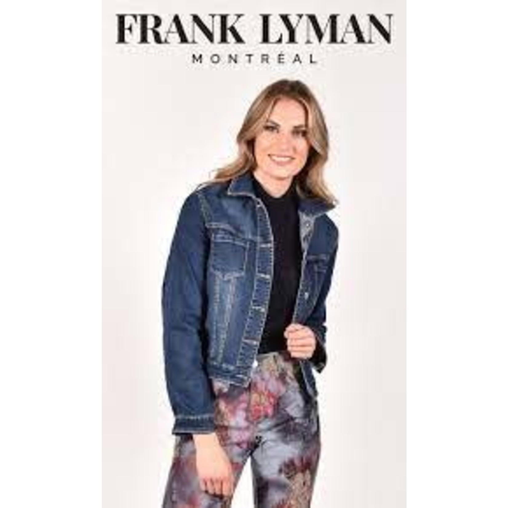 Frank Lyman Blue & Pink Reversible Jacket