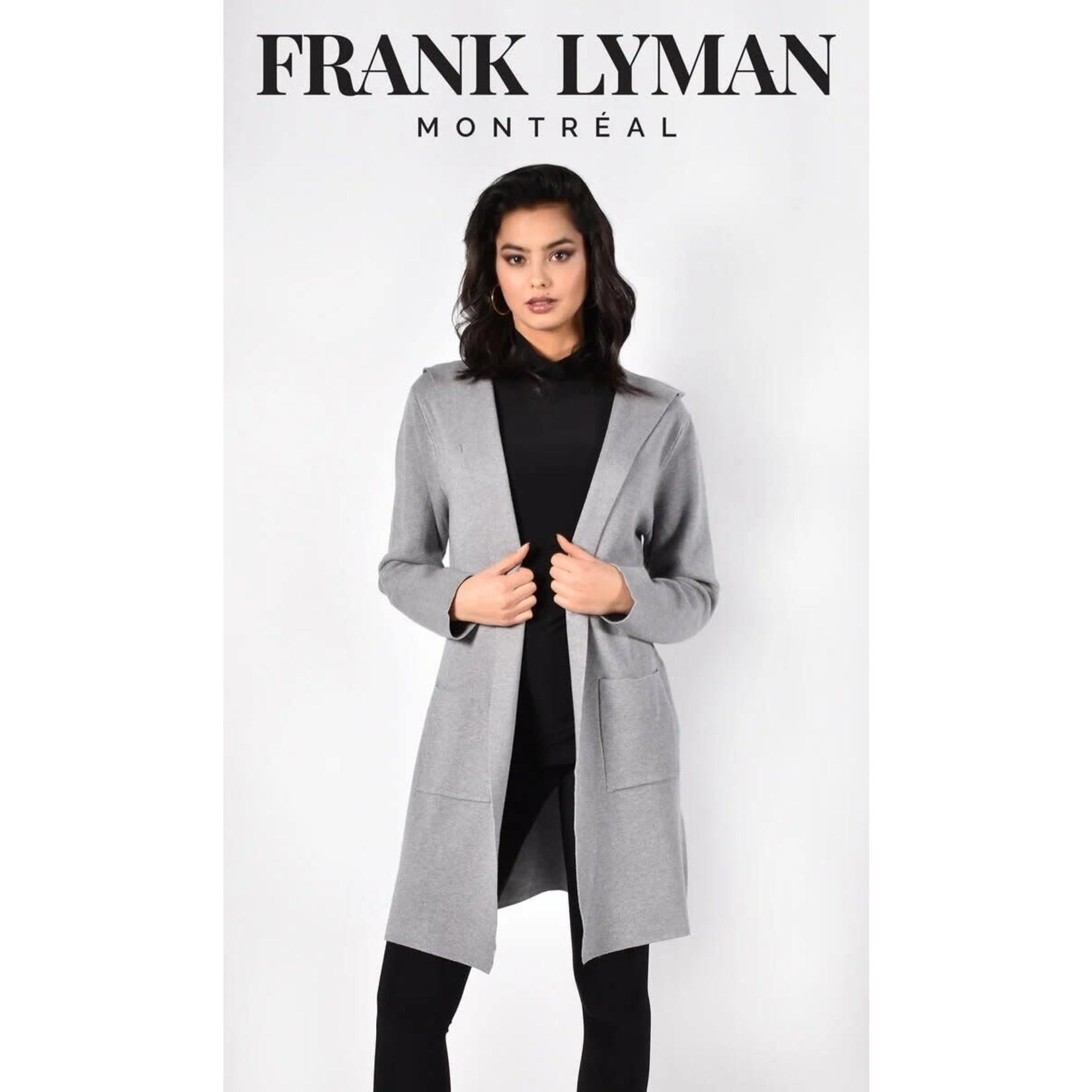 Frank Lyman Grey Knit Duster