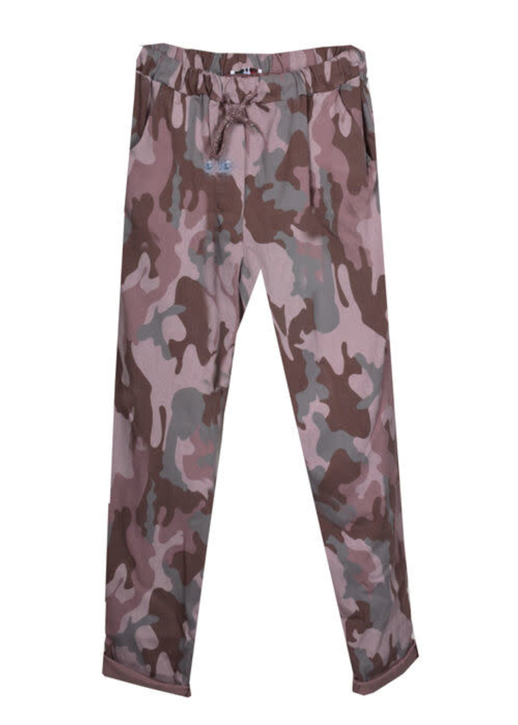 Catherine Lily White Pink Camo Joggers