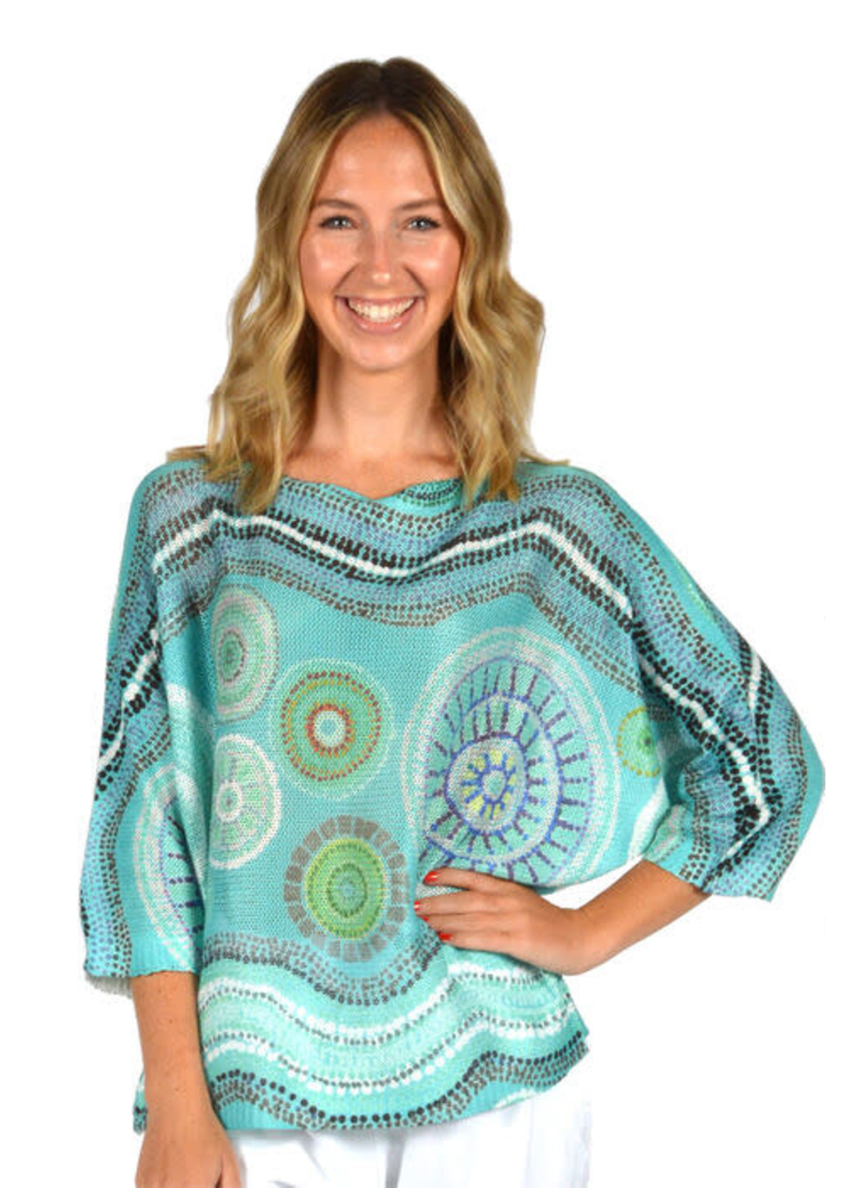 Catherine Lily White Circle Of Beauty Top