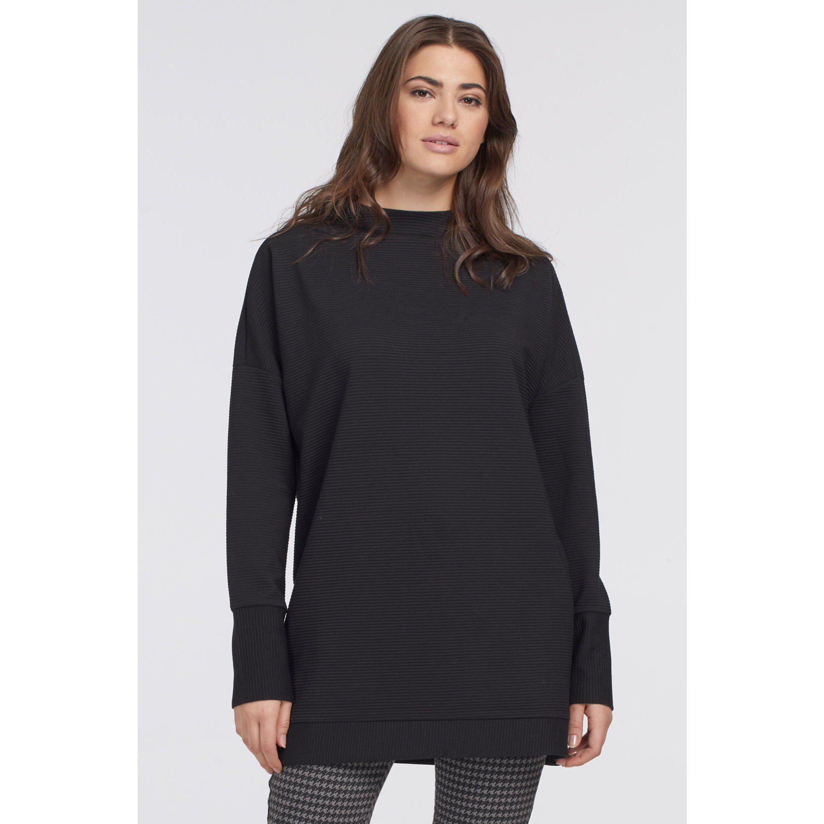 Tribal Funnel Neck Tunic (More Colors)