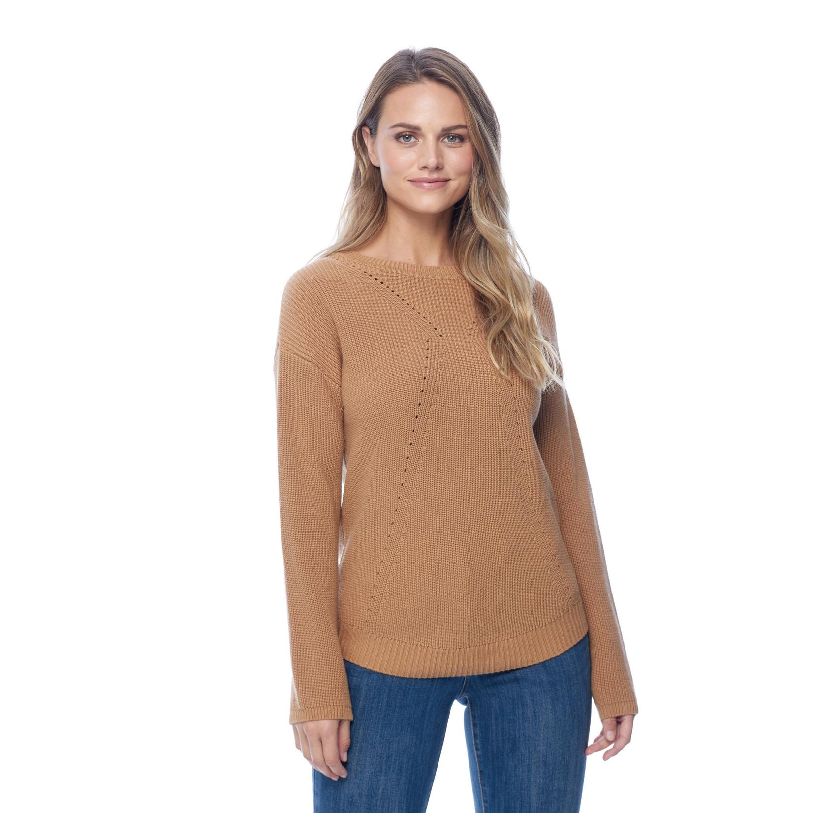 FDJ Shaker Stitch Boat Neck Sweater *More Colors*