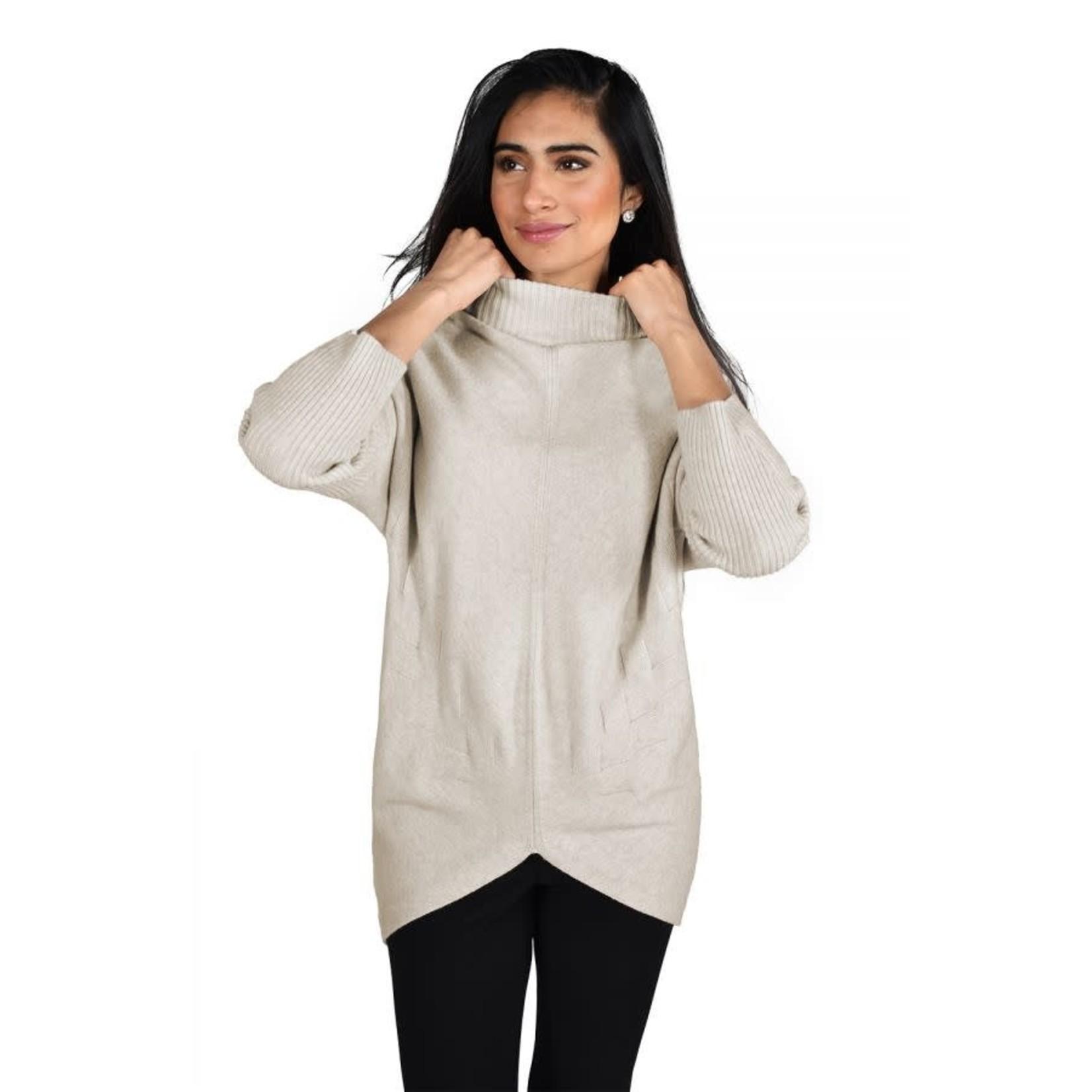 Frank Lyman Oatmeal Sweater