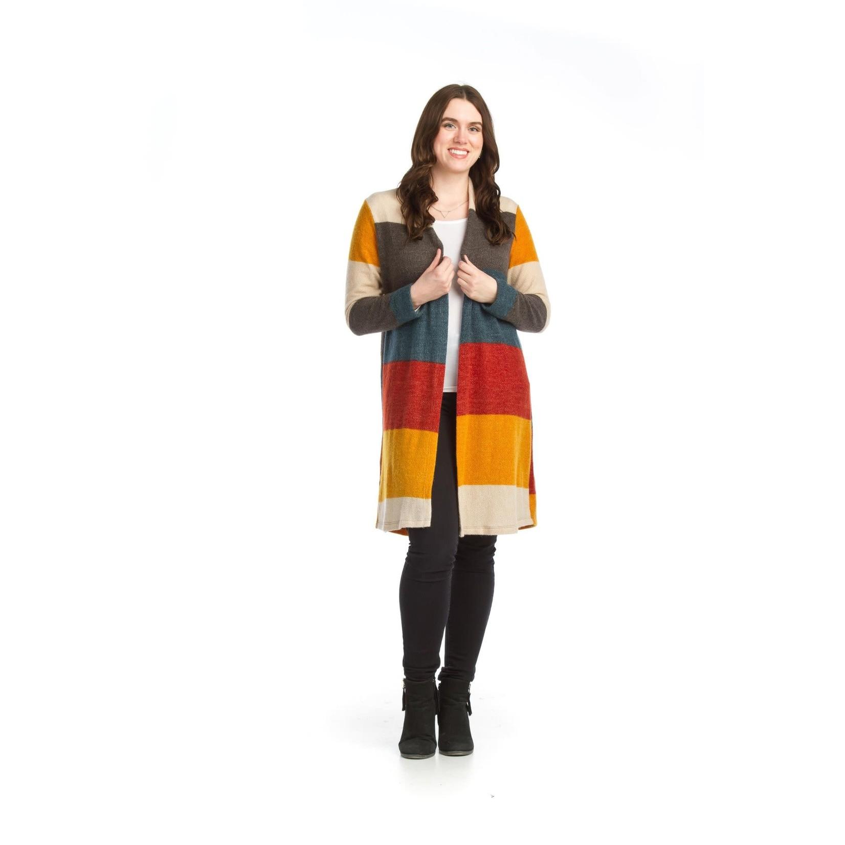 Papillon Colorblock Carigan Sweater