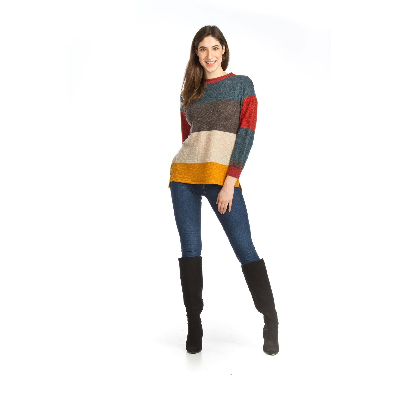 Papillon Color Blocked Sweater