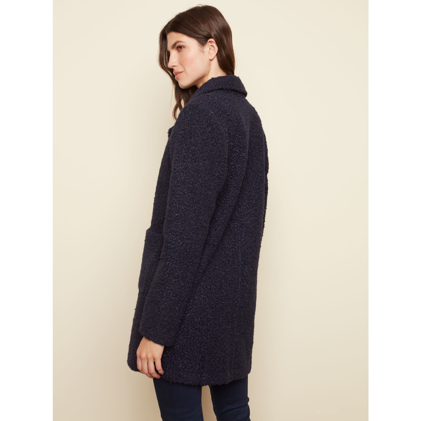Charlie B Solid Boucle Jacket