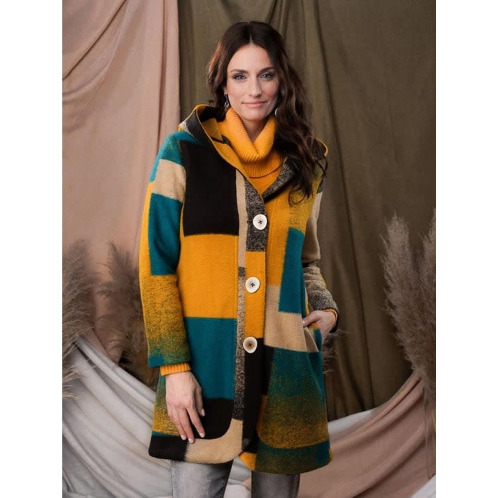 Alison Sheri Coat With Hood