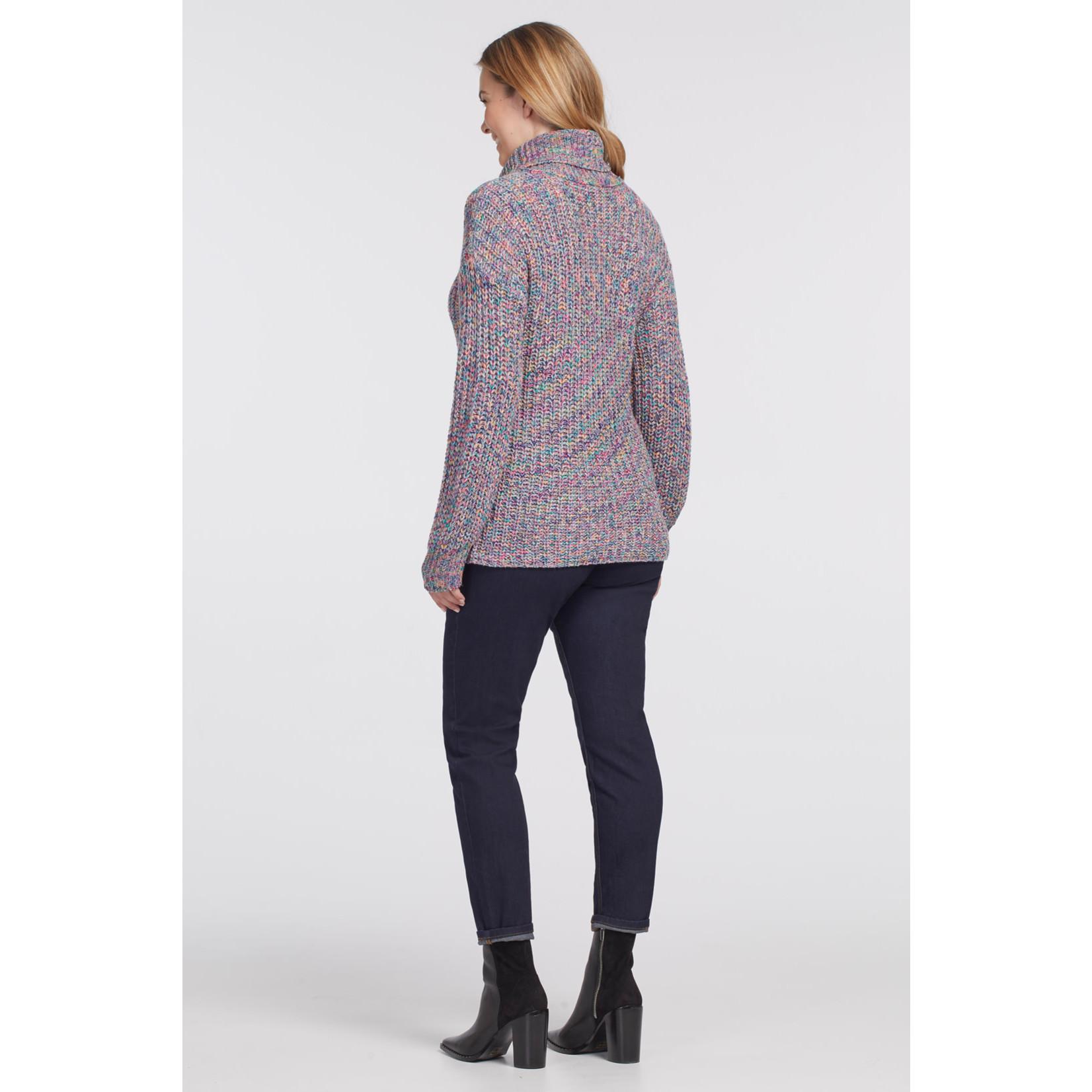 Tribal Turtleneck Sweater