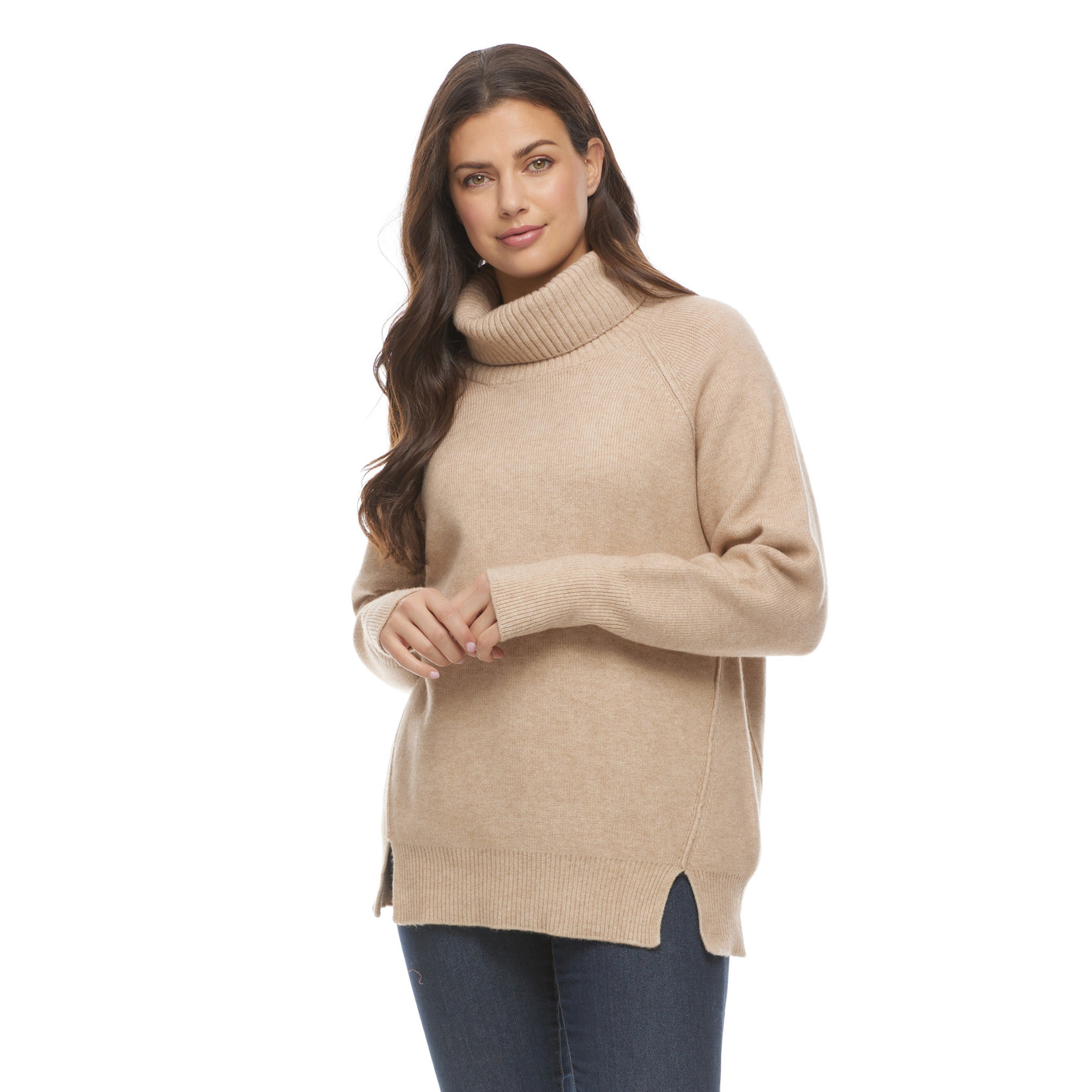 FDJ Relaxed Cowl Neck Sweater