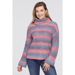 Tribal Cowl Neck Sweater