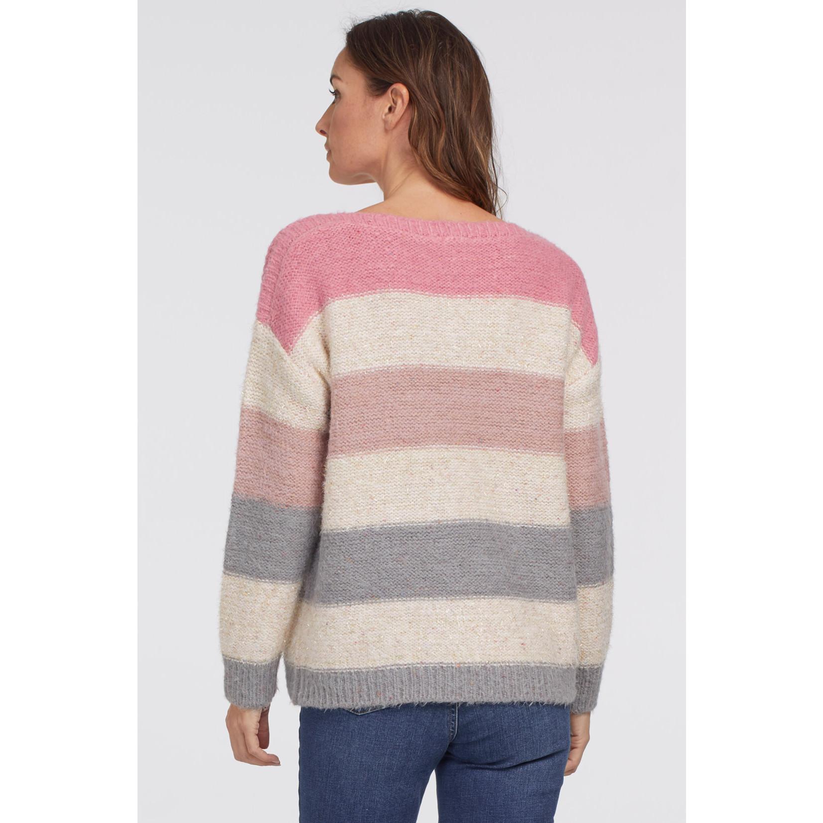 Tribal Boatneck Sweater