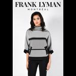 Frank Lyman Black/White Knit Top 213523