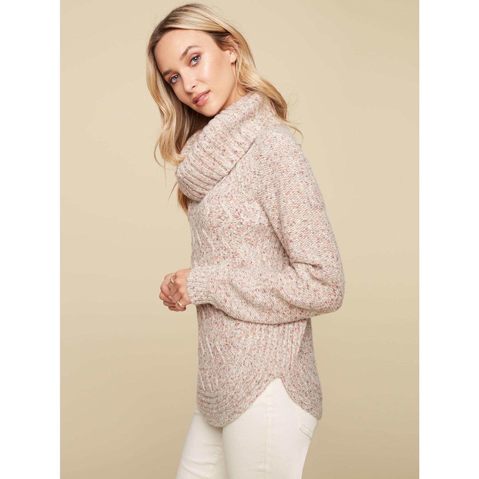 Charlie B Round Hem Sweater
