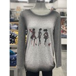 Tricotto Walking Dogs Sweater