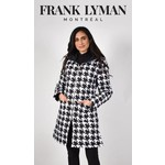 Frank Lyman Black & White Reversible Coat