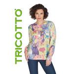Tricotto Multi Coloured Cat Sweater