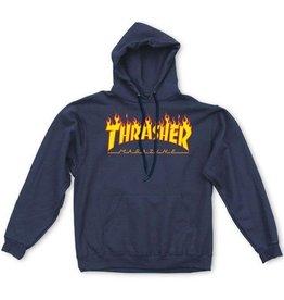 Thrasher Thrasher Flame Hood Navy
