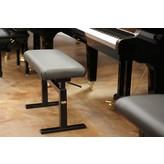 """Hidrau Model HM Leather Hydraulic Adjustable Artist Piano Bench - 30"""""""