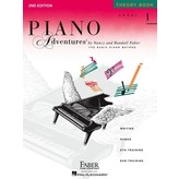 Faber Piano Adventures Level 1 - Theory Book - 2nd Edition