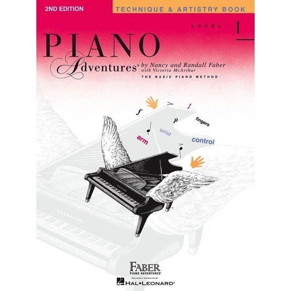 Faber Piano Adventures Level 1 - Technique & Artistry Book - 2nd Edition