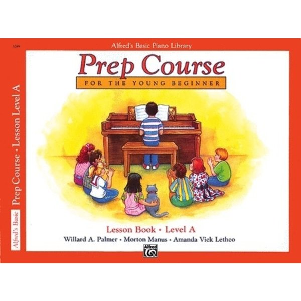 Alfred Music Alfred's Basic Piano Prep Course: Lesson Book A