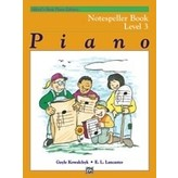 Alfred Music Alfred's Basic Piano Course: Notespeller Book 3