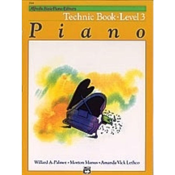 Alfred Music Alfred's Basic Piano Course: Technic Book 3