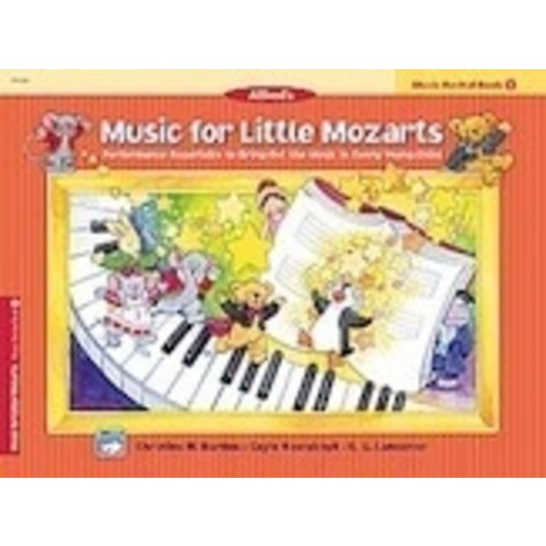 Alfred Music Music for Little Mozarts: Music Recital Book 1