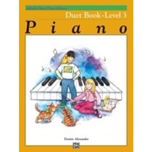 Alfred Music Alfred's Basic Piano Course: Duet Book 3