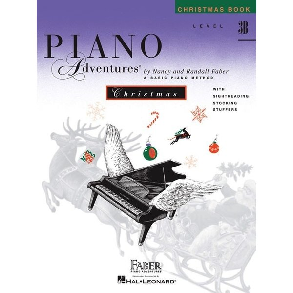 Faber Piano Adventures Level 3B - Christmas Book