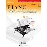 Faber Piano Adventures Level 4 - Technique & Artistry Book