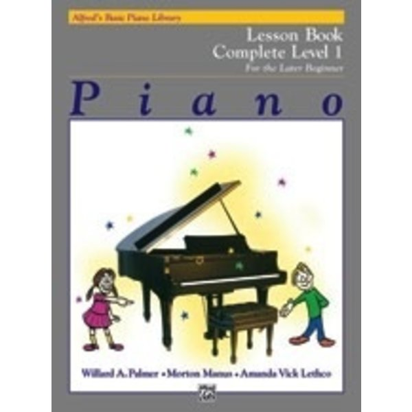 Alfred Music Alfred's Basic Piano Course: Lesson Book Complete 1 (1A/1B)
