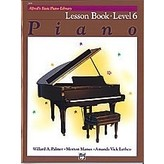 Alfred Music Alfred's Basic Piano Course: Lesson Book 6