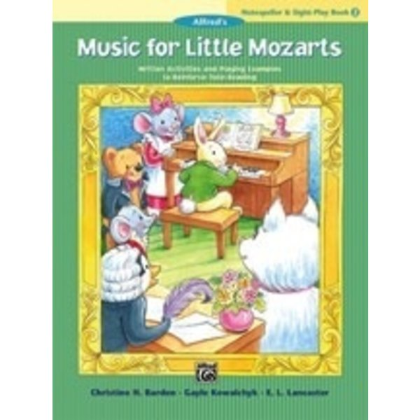 Alfred Music Music for Little Mozarts: Notespeller & Sight-Play Book 2