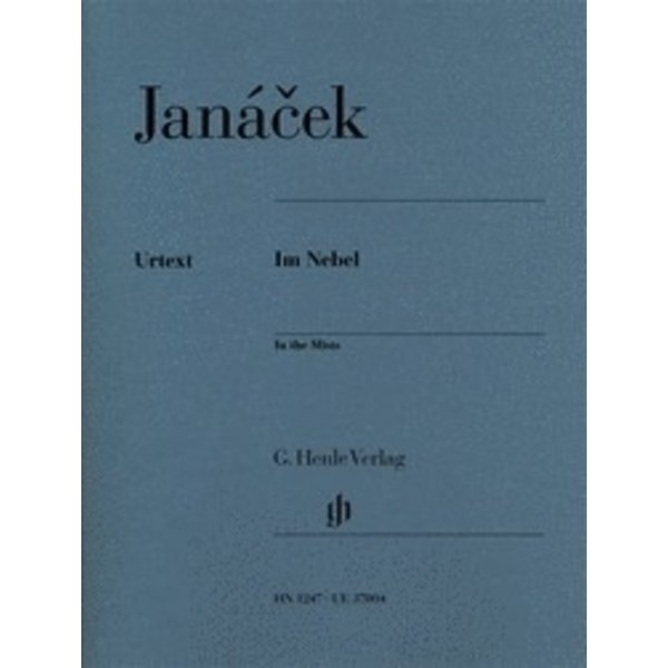 Henle Urtext Editions Jánacek - In the Mists Piano Solo