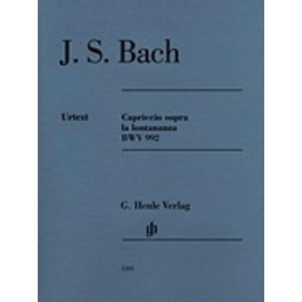 Henle Urtext Editions J.S. Bach - Capriccio Sopra La Lontananza Bwv 992 Piano Solo