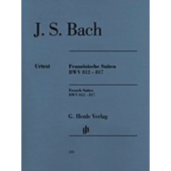 Henle Urtext Editions J.S. Bach - French Suites BWV 812-817
