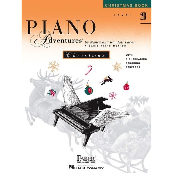 Faber Piano Adventures Level 2B - Christmas Book