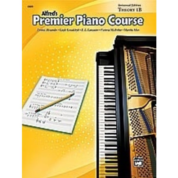 Alfred Music Premier Piano Course: Universal Edition Theory Book 1B